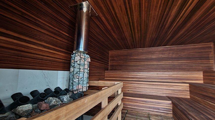 Sauna Soft wewnątrz